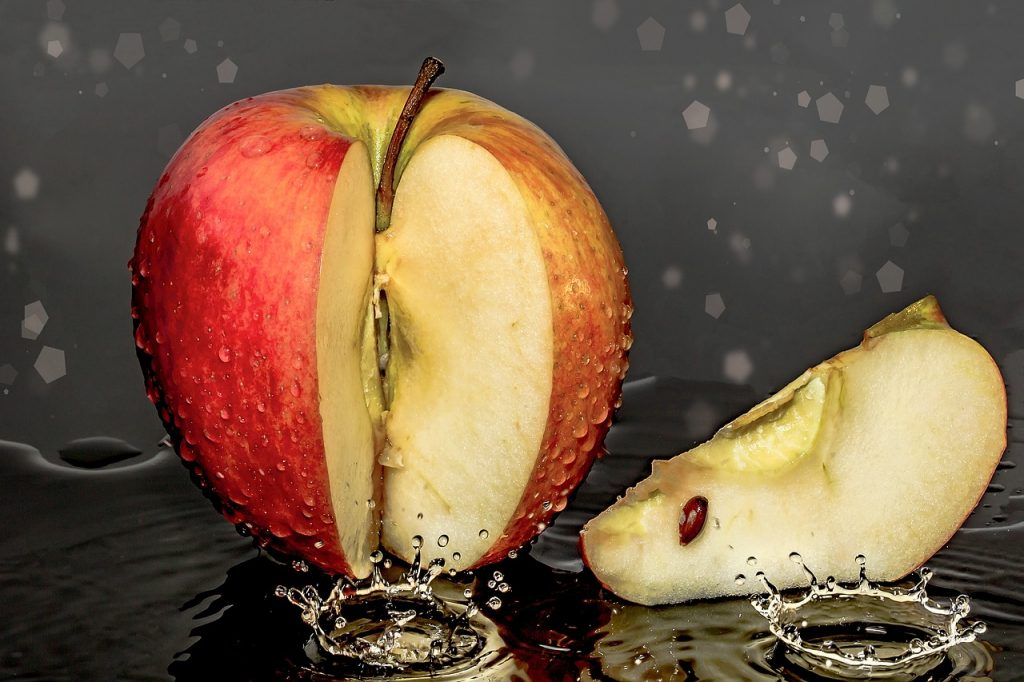 Apfel als Sattmacher