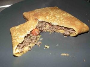 Low carb Pfannkuchen mit Füllung