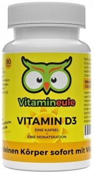 Vitamin D3-Kapseln